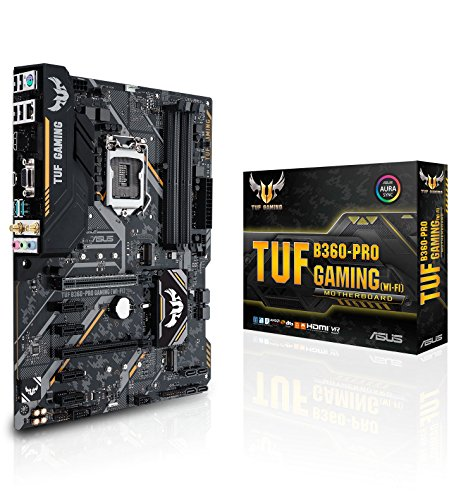 Asus Intel B360 ATX - Placa base gaming Aura Sync