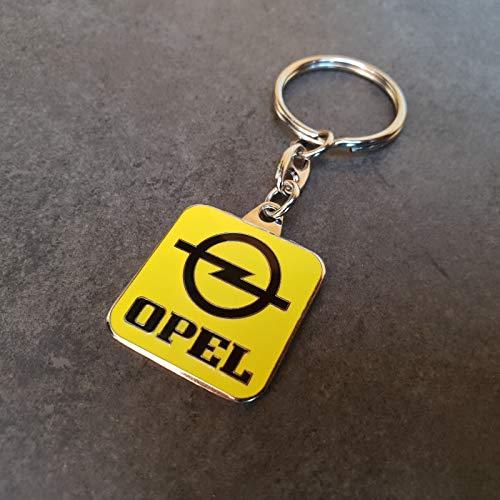 Opel Schlüsselanhänger Keyring Kapitän Rekord Olympia Diplomat Kadett Ascona
