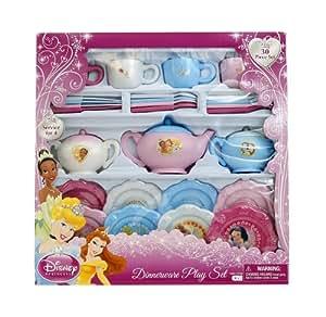 Disney Princess 30 Piece Dinnerware Set