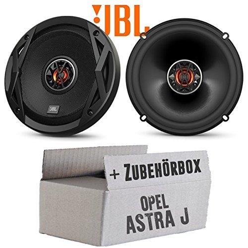 Opel Astra J - Lautsprecher Boxen JBL Club 6520 | 2-Wege | 16cm Koax Auto Einbauzubehör - Einbauset