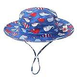 Caratteristiche principali del prodotto:    1. Anti-sole e protezione del viso del tuo bambino.   2. Questo cappello da sole è comodo e traspirante, ideale da indossare in estate o in primavera.   3. Ultra-leggero (40g) e di tendenza.   4. Il cintur...