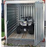 Baucontainer Garage Container Lagercontainer Gerätecontainer Blechcontainer mit TÜV Größen (L) 5m x 2,2m x 2,2m - 4