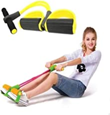 AB Sales Fitness Sit-up Exercise Equipment Resistance Bands for Home Gym Yoga Workout Multifunction Arm Leg Exercise Abdominal Training (Color Send in Randomly)