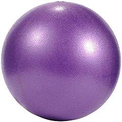 iStary Yoga Ejercicio-Pelota de Sóftbol para aparatos de Fitness Ejercicio Balance Explosion Protegidas PVC Yoga Pelotas Pods Pilates con Bomba Fitball para Entrenamiento