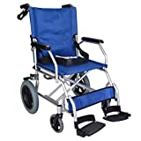 Lightweight folding transit travel wheelchair with lapbelt weighs under 10kg - EC1863