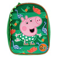 Peppa Pig George Backpack Bags & Accessories Synthetic Material Kids Bags Green/Multi