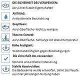 EXCLUSIVE LINE Rechteck Badewanne Acryl DESIGN 170×70 cm mit Schürze Füßen und Ablaufgarnitur GRATIS - 7