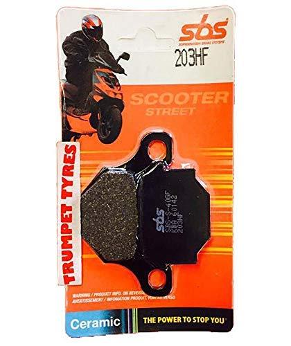 Rieju Rrx 50 50cc 08 2008 SBS Performance Vordere Keramik Bremsbeläge Satz Qualität Original OE 203hf -