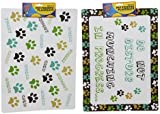Set of 2 Pet Dog Feeding Placemats - 2 Designs Available