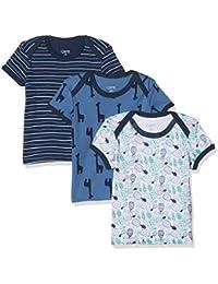 Care Camiseta Bard Bebé, Pack de 3