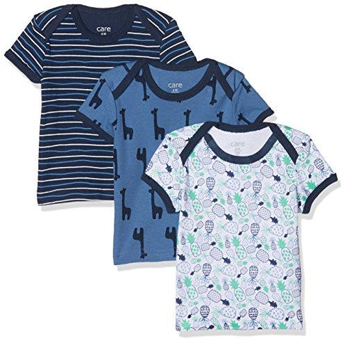Care Baby-Jungen T-Shirt im 3er Pack Dunkel Blau 772), 18 Monate/86 cm 3er-Pack