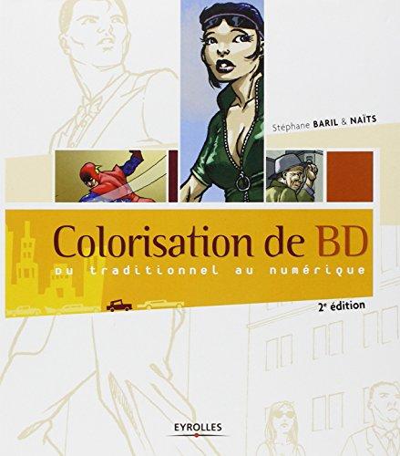 Colorisation de BD: Du traditionnel au numérique.