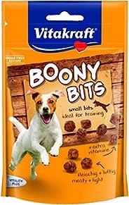 Vitakraft hundhals, mellanmål fångar, idealiskt träningssnacks, boony bitar, 6-pack (6 x 55 g)