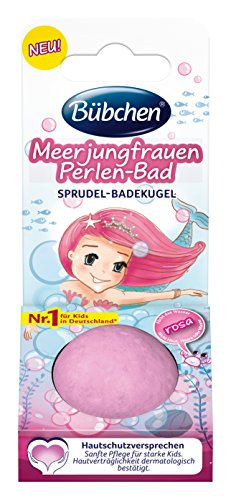 Bübchen Kids Meerjungfrauen Perlen-Bad