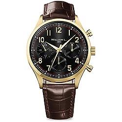 Reloj William L. para para Hombre WLOJ03NROJCM