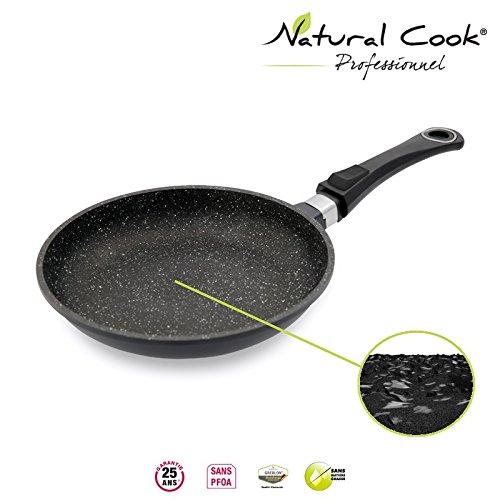Natural CookPoêle en pierre granité et céramique