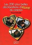 Petit Livre de - Les 200 plus belles répliques d'amour du cinéma