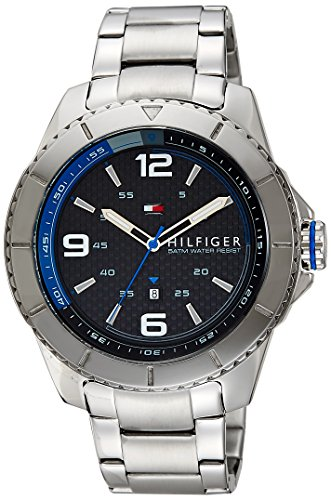 Tommy Hilfiger Analog Black Dial Men's Watch - TH1791002J