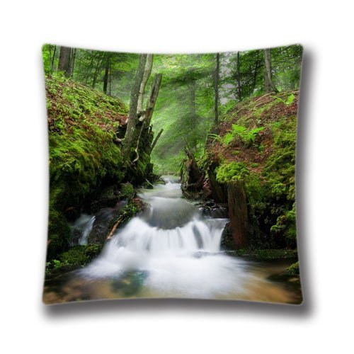 16x16-inches-coldwater-creek-decorative-pillow-case-soft-fabric-square-cushion-cover-anasac32380