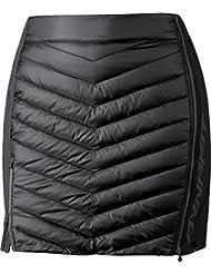 Dynafit TLT Primaloft Falda para mujer, otoño/invierno, mujer, color asfalto, tamaño 42W x 36L