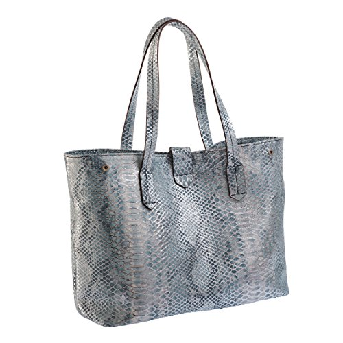 Tilla...Le Borse , sac bandoulière femme bleu ciel