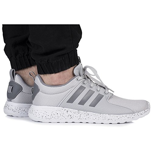 adidas Herren Cloudfoam Lite Racer Gymnastikschuhe Grau (Grey Two F17/grey Three F17/ftwr White Grey Two F17/grey Three F17/ftwr White)