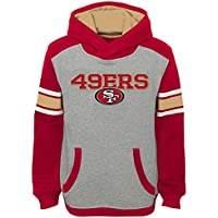 """San Francisco 49ers Youth Jeunes NFL """"Allegiance"""" Pullover Hooded Sweatshirt chemise"""