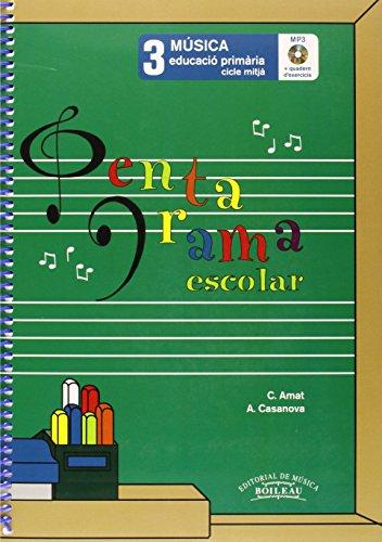 Pentagrama Escolar 3 - Català (Llibre+CD+Quadern d'ex.)