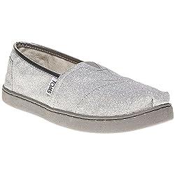 Toms Classic Ni o Zapatos Gris