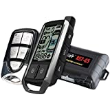 Crimestopper Rs7-G5 Cool Start 2-Way Fm/Fm Lcd Paging Remote-Start & Keyless-Entry System With Trunk Pop