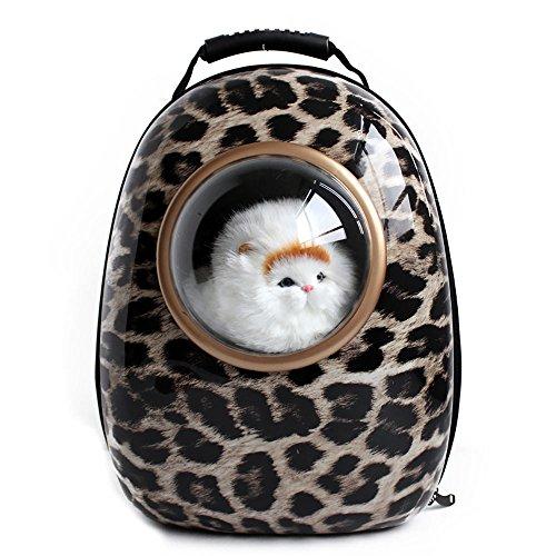 npet-pet-travel-bag-space-pet-case-innovative-traveler-bubble-outdoor-backpack-pet-carriers-leopard