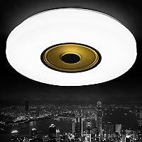 BBSLT LED plafoniera lampada bianco nell'anello esterno anello interno giallo