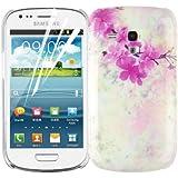 JAMMYLIZARD | Garten Back Cover Hülle mit Muster für Samsung Galaxy S3 Mini, KIRSCHBLÜTE