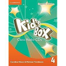 Kid's Box Level 4 Class Audio CDs (3)