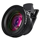 #5: AUKEY Ora iPhone Lens, 140° Wide Angle + 10x Macro Clip-on Cell Phone Camera Lens Kit for Samsung, Android Smartphones, iPhone