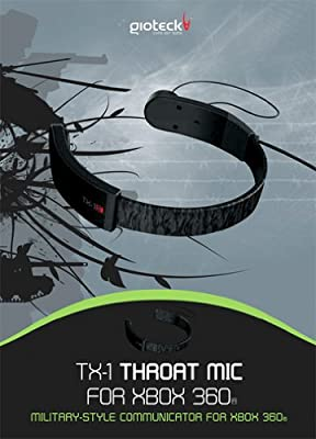 Gioteck TX-1 Military Style Throat Mic for Xbox 360
