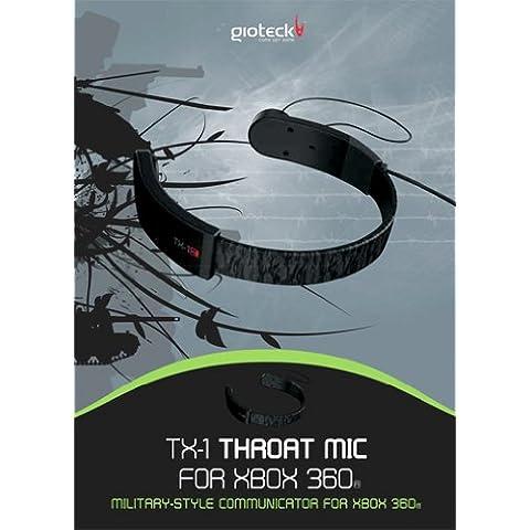 Casque Xbox 360 Micro Gorge Tx-1 [Importación francesa]