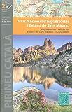 Aigüestortes i Estany de Sant Maurici Parque Nacional 1:25.000 conjunto de 2 mapas topográficos de senderismo y ciclismo (España, Cataluña) ALPINA
