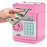 Preisvergleich für Umiwe Elektronische Spardose, Kinder Kids Code Sparschwein Mini Geldautomat Spardose Münzen Spardose Bank, Spielzeug Geschenke Geburtstag Geschenke