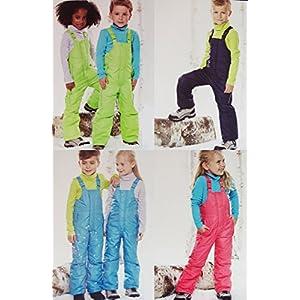 IMPIDIMPI Kleinkinder Schneehose Kinder Skihose TECHTEX Bionic Finish ECO 4 Farben Gr.74 bis 116