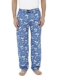 London Bee Men's Cotton Poplin Printed Pyjama/ Lounge Pant MPLB0108