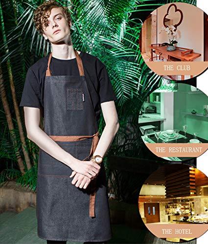 enim Schürze Perfekt für Küche, Club, Restaurant, Grill, Garten, Unisex ()