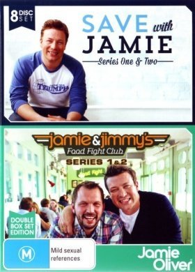 Jamie Oliver Collection (Save With Jamie - Series 1+2 / Jamie and Jimmy's Food Fight Club - Series 1+2)