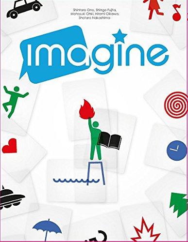 OLIPHANTE- Imagine-Gioco di società con più di 1000 Enigmi in Italiano, da Far Indovinare, Multicolore, 14255