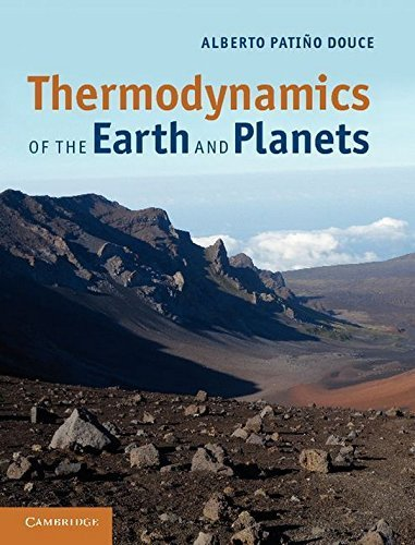 Thermodynamics of the Earth and Planets by Alberto Pati?o Douce (2011-10-17)