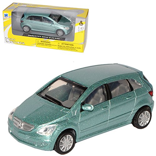 z B-Klasse W245 Grau 1. Generation 2005-2011 1/43 Modell Auto mit individiuellem Wunschkennzeichen ()