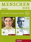 """Menschen hier - Paket für Ihren Integrationskurs: Menschen hier A1/2: Deutsch als Zweitsprache / Paket: Kursbuch """"Menschen"""" mit DVD-ROM und Arbeitsbuch """"Menschen hier"""" mit Audio-CD - Sandra Evans"""