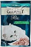 Gourmet Perle Katzenfutter Erlesene Streifen mit Forelle und Spinat