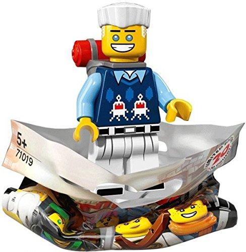 THE LEGO® NINJAGO® MOVIE™ 71019 Minifigur Zane mit 1x GALAXYARMS Saigabel und 1x Katana in Gold (Zane) (Lego Ninjago Minifigur Zane)
