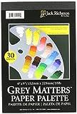 Jack Richeson grau Matters Papier Palette (30Blatt), 15,2x 22,9cm